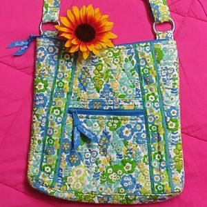 Vera Bradley Bag, English Meadow Pattern, NWOT